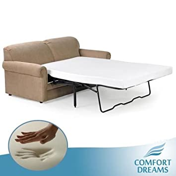 Comfort Dreams 4.5-inch Full Size Memory Foam Mattress for Sofa Beds