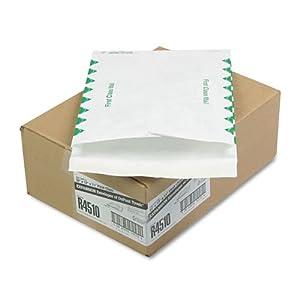 """Tyvek Envelopes, Open-End Expansions, 1st Class, 10""""""""x13""""""""x1.5"""""""", 100/Carton QUAR4510"""