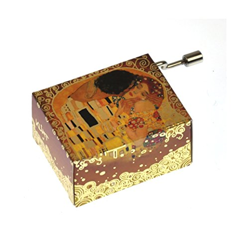 "Art Music Box - Gustav Klimt ""The Kiss / Der Kuss""& Debussy ""Arabesque"""