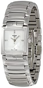 Tissot T051.310.11.031.00 - Reloj de pulsera mujer, acero inoxidable, color plateado