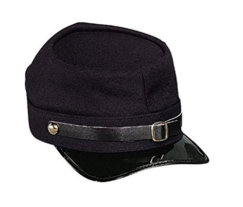 Navy Blue Army Civil War Union Kepi Halloween Costume Adjustable Hat Cap
