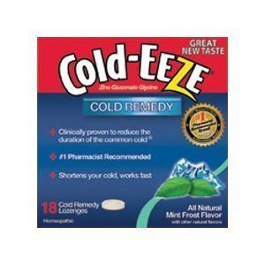 COLD-EEZE CLD DRPS BOX MNT FRS , COLD DROPS MINT FROST