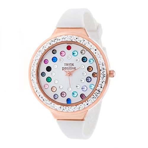 ladies-think-positiver-modell-se-w116r-star-dust-tunnel-medium-rose-bugel-silikon-farbe-mix-weiss