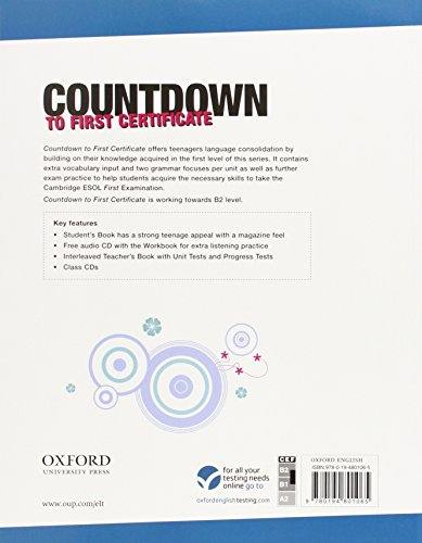 New Countdown to First Certificate: Teacher's Book Edition 08