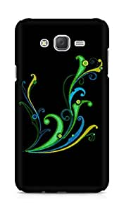Amez designer printed 3d premium high quality back case cover for Samsung Galaxy J7 (Abstract Dark 25)