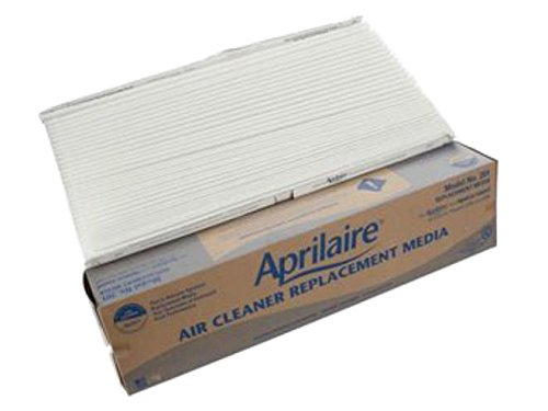 4 Pack of Genuine OEM Aprilaire 201 Air Filters MERV 10 fit the Air Purifier Model 2250 and Model 2200.