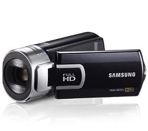SAMSUNG Caméscope haute définition QF30 - noir + Carte mémoire SDHC - 8 Go Classe 10 (LSD8GBBBEU200C10)