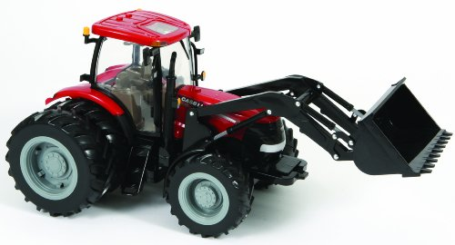 Britains Big Farm Case Ih 195 Puma Tractor With Dual Wheels And Loader