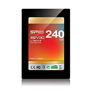 Silicon Power Velox series V30 SATA III SATA 6.0 Gb-s 2.5-Inch Solid State Drive - SP240GBSSDV30S25