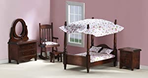 Mini Bedroom Collectible Furniture Set