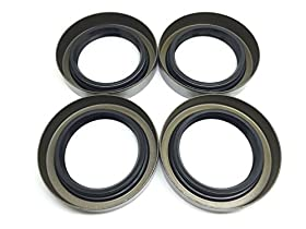 (Pack of 4) WesternprimeTrailer Hub Wheel Grease Seal 3500# E-Z Lube Axle 1.719'' X 2.565'' 10-19 171255TB