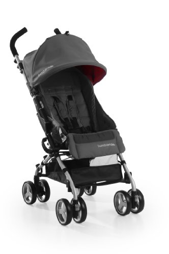 Bumbleride Flite Stroller, Grey/Orange - 1
