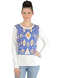 Bonhomie Women Sweatshirts [BONSW13_Offwhite_Small]