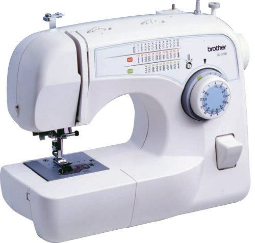 Brother XL-3750 Convertible 35-Stitch Free-Arm Sewing Machine with Quilting Table, 7 Presser Feet, and More!
