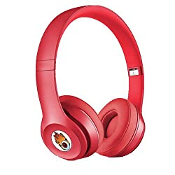 Acid Eye Red Bluetooth Wired and Wireless overear headphone S-460 with Aux cable connector