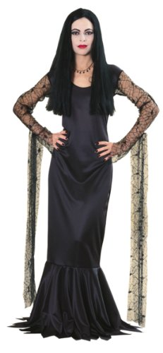 Morticia Addams Family Adult Costume Lg Adult Womens Costume