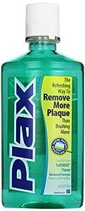 Plax Advanced Formula Plaque Loosening Rinse, Soft Mint