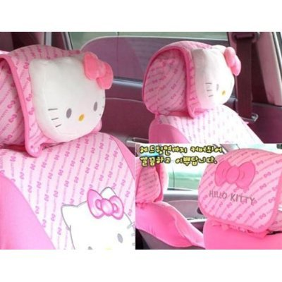 Hello Kitty Head Rest Cover 2 PCs