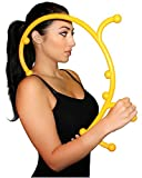 Manual Back Hook Massager Stick – Patented Mid, Lower, Upper Neck Back Shoulder Self Massaging Hook – Physical Therapy Massage Equipment Tool – Myofascial Release Chiropractic Massager – Trigger Point Release Therapy – Loved By Crossfitters, Athletes, Chiropractors and Physical Therapist thumbnail