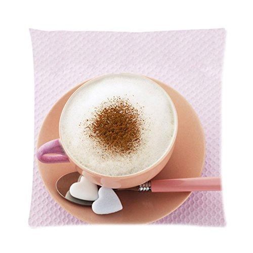 Coffee Shop Zpc240 Art Cushion Cover Restuarant Pillow Case Home Decor New