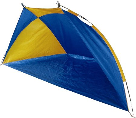 GSI Quality Waterproof Fishing Tent, Family Beach Shelter, With Fiberglass Frame And Carrying Case - Protects From Sun And UV Rays