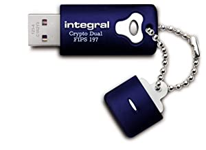 INTEGRAL 8GB AES-256 USB-Stick Crypto Total Lock WIN + MAC Master und User Passwort kompatibel mit Endpoint Security Software