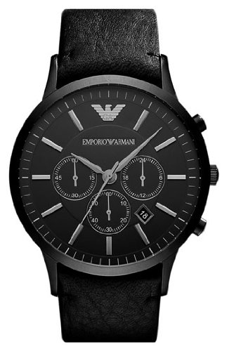 Emporio Armani Hombre Cronógrafo Armband Uhr AR2461 XL
