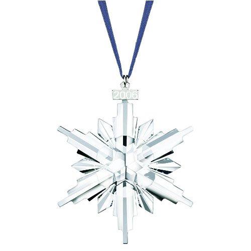 Swarovski crystal christmas ornament limited edition - Swarovski weihnachtsstern 2006 ...