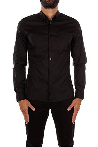 chemises-prada-homme-coton-noir-sc356nero-noir-40
