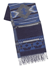North Coast Aztec Striped Scarf