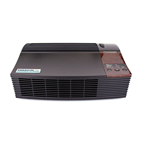 Oreck AIRPCB Professional Permanent Filter Air Purifier with Optional Ionizer And Quiet Operation, Black (Oreck Air Purifier Odor compare prices)