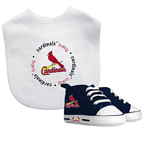 St. Louis Cardinals Mlb Infant Bib And Shoe Gift Set front-952187