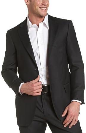Dockers Men's Suit Separate Coat, Black Solid, 38 S