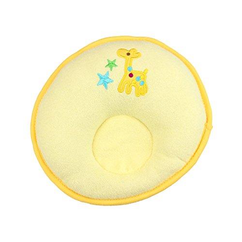 H:oter Baby, Kleinkind Kissen Prevent FlachkopfstützkissenAnti Roll Kissen, Preis / Stück - Yellow