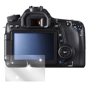 dipos Canon EOS 70D Schutzfolie (6 Stück) - kristallklare Premium Folie Crystalclear