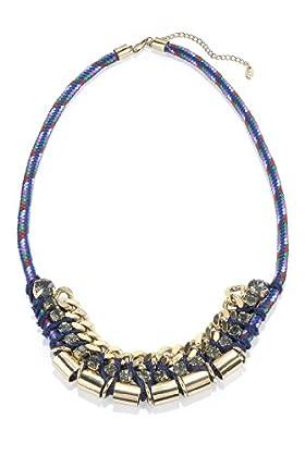 Limited Collection Diamanté Stone Drop Bungee Necklace