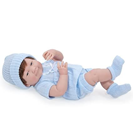 JC Toys La Newborn Boy Baby Doll by JC Toys (English Manual)
