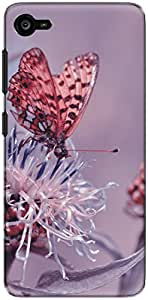 The Racoon Grip butterfly diaries pink hard plastic printed back case/cover for Lenovo Z2 Plus