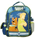 Scooby Doo Blue Toddler Backpack w/ Water Bottle