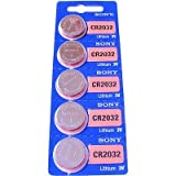 5 x Sony CR2032 2032 3V Lithium Batteries