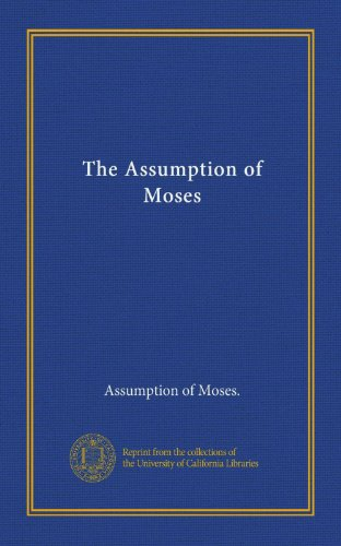 The Assumption of Moses PDF