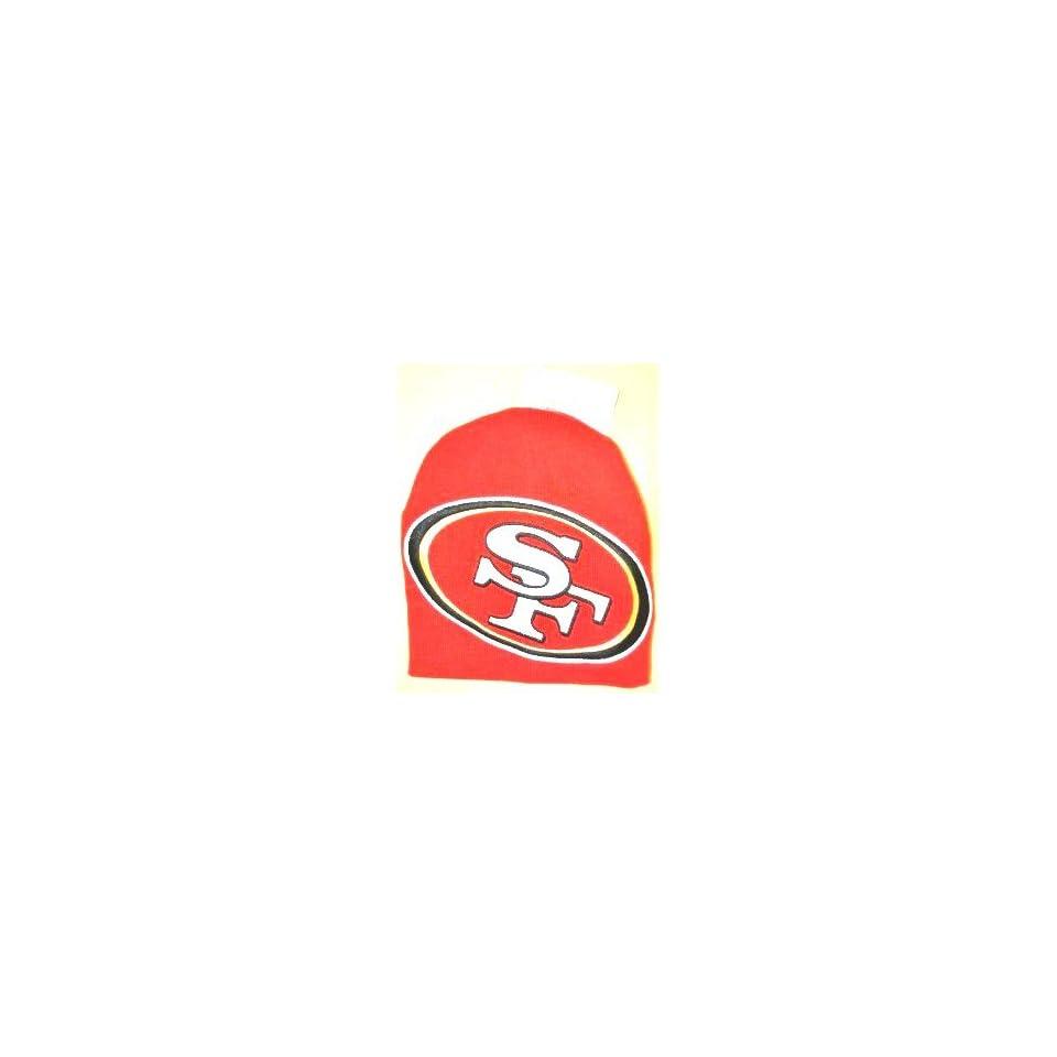 NFL San Francisco 49ers Hyper Logo Team Fan Beanie