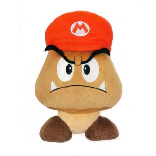 Amazon.com: Nintendo Super Mario 64 DS Goomba Mario hat plush new Wii