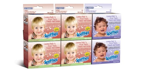 Spiffies Tooth Wipes Multipack Apple And Grape 120
