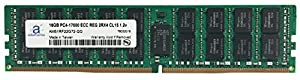 Adamanta 16GB (1x16GB) Server Memory Upgrade for Dell Precision 5810 DDR4 2133MHz PC4-17000 ECC Registered Chip 2Rx4 CL15 1.2V RAM