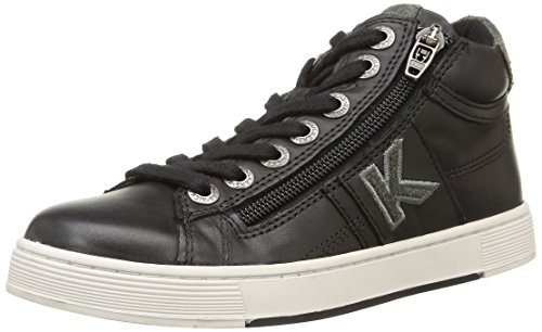 Kickers  Poolover,  Sneaker ragazzo Nero nero 34