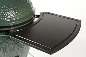 big green egg wing side shelves patio lawn garden. Black Bedroom Furniture Sets. Home Design Ideas