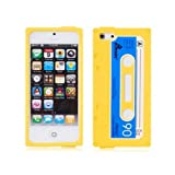 Retro Chic iPhone 5 Cassette Tape Silicone Case in Yellow