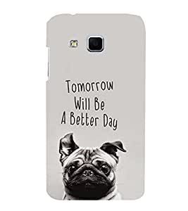 EPICCASE positive future Mobile Back Case Cover For Samsung Galaxy J3 (Designer Case)