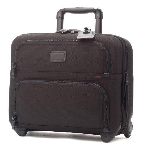 (トゥミ) TUMI 26124 DH ALPHA キャリーケース/スーツケース BUSINESS WHEELED(ウィールド・コンパクト・ブリーフ・ウィズ・ラップトップ・インサート) ブラック 【機内持ち込み対応】 [並行輸入品]
